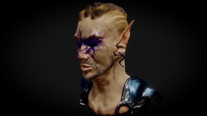 Corrupted Elf 3D Model
