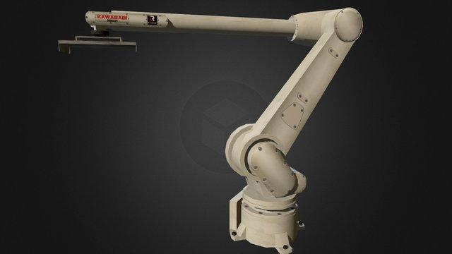 Pick & Place Robot 3D Model