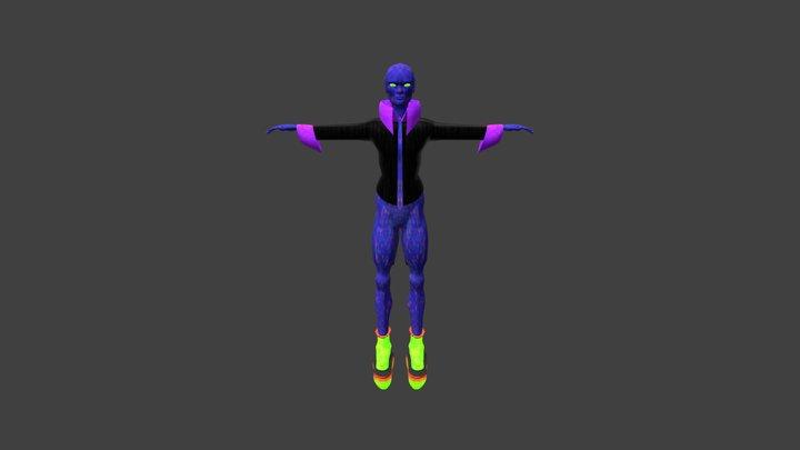 Dark Evil Sprite 3D Model