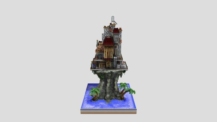Steampunk by Shax 3D Model