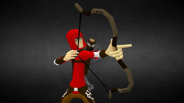 Red Archer 2 3D Model