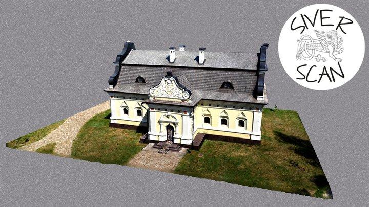 Палац Івана Мазепи у Батурині 3D Model