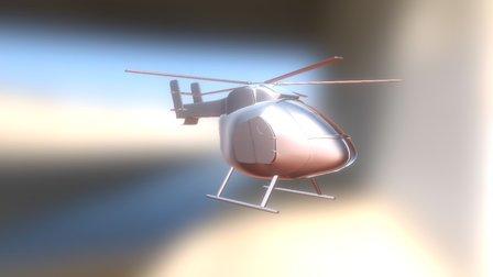 Heli 3D Model