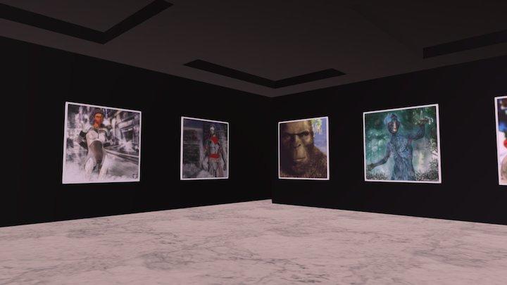 Instamuseum for @LookingGlassGraphics 3D Model