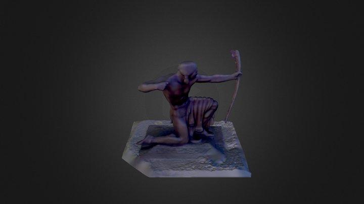 Paul H. Manship - Indian Hunter 3D Model