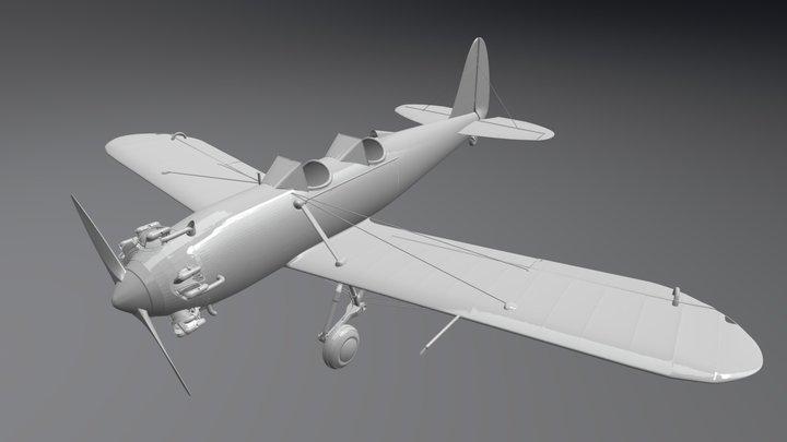 PT-22 Recruit 3D Model