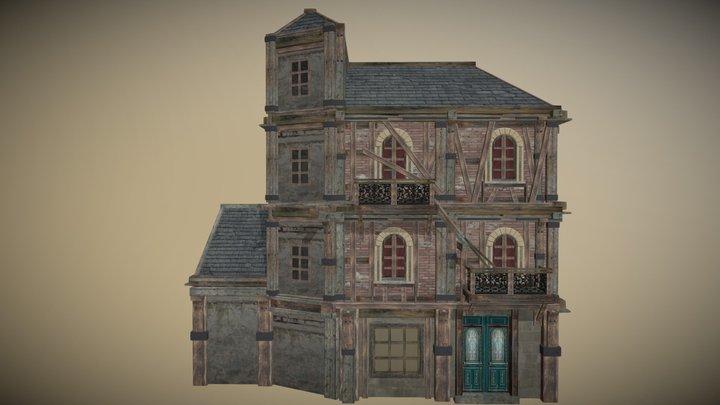 Butcher Manor 3D Model