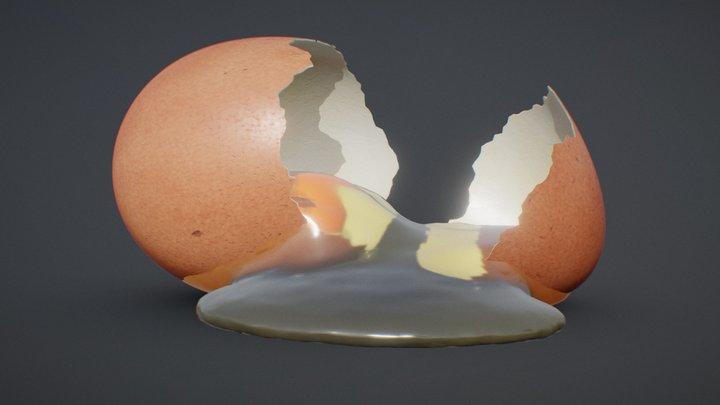 Refraction Demo: S**t happens 3D Model