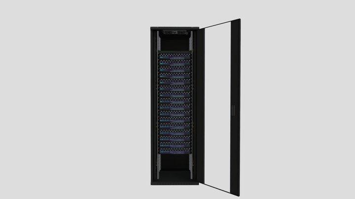 Configuración a medida Smart Rack Plus 47U - v2 3D Model
