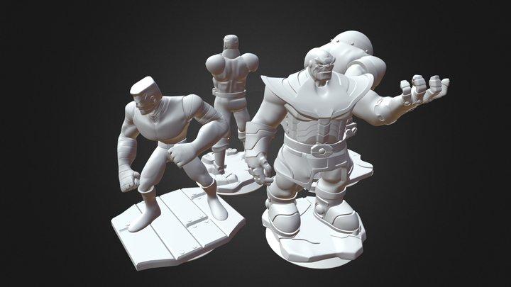 Disney Infinity Prints 01 3D Model