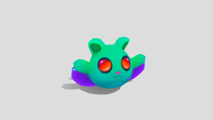 Jelly Beams - Flying Squirrel 3D Model