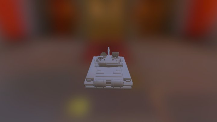Type99 first prototype 3D Model