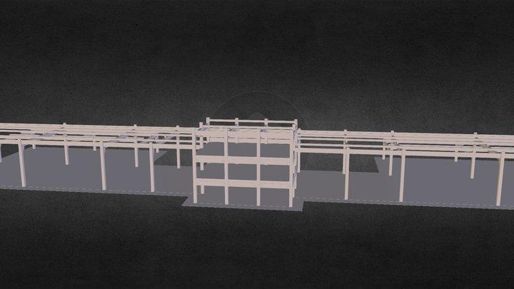 estrutural 3D Model