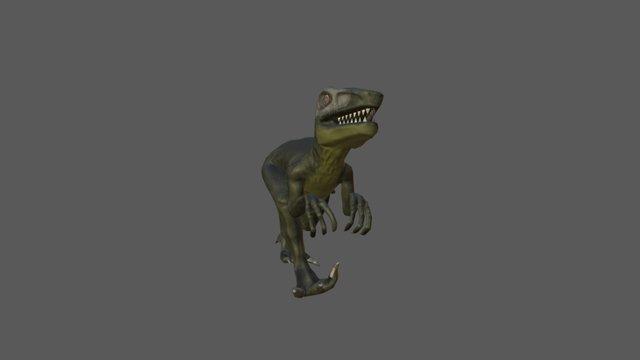 Raptor Animations 3D Model