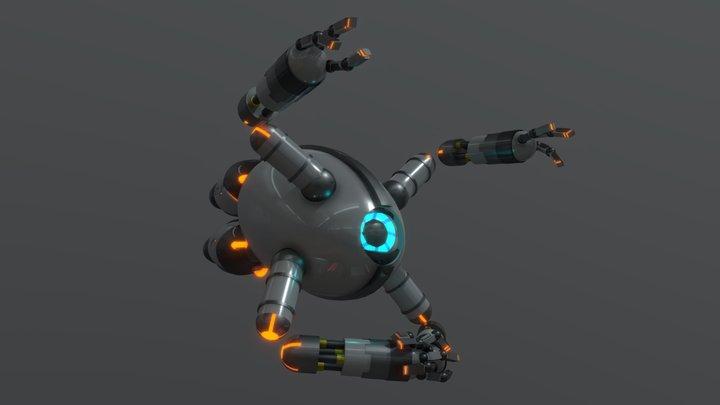 Eye Robot 3D Model