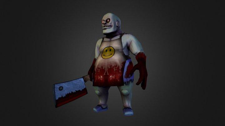 Horror Chef 3D Model