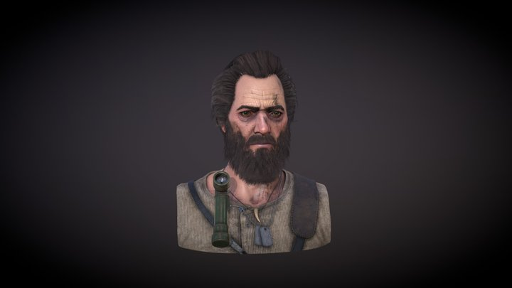 Survivor 3d realtime portrait 3D Model