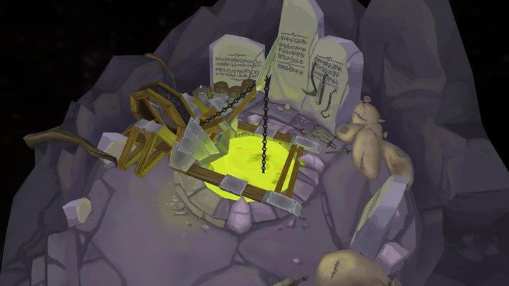 The Cauldron 3D Model