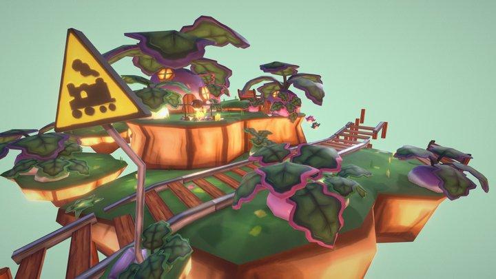 Stop 01: Turnip Island 3D Model