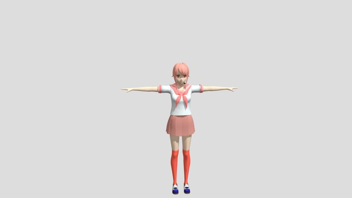 yandere_simulator_base_model 3D Model