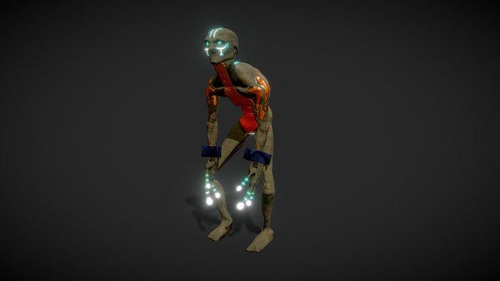 Strange Character 3D Model