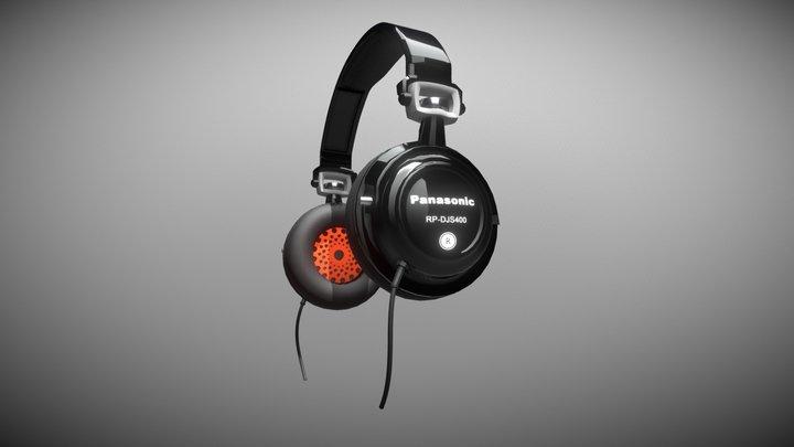 Panasonic RP-DJS400 3D Model