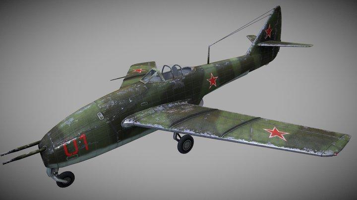 """Lavochkin La-160  for """"World of Warplanes"""" MMO 3D Model"""