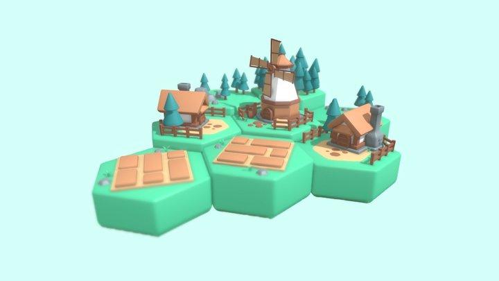 Farming Life 3D Model