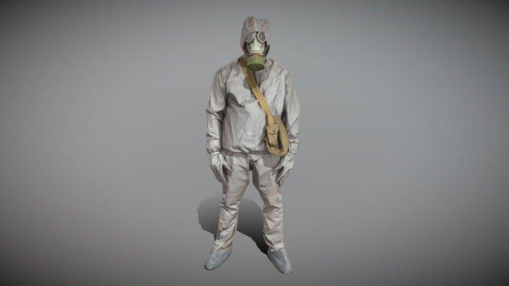 Soviet Liquidator of Chernobyl 58 3D Model