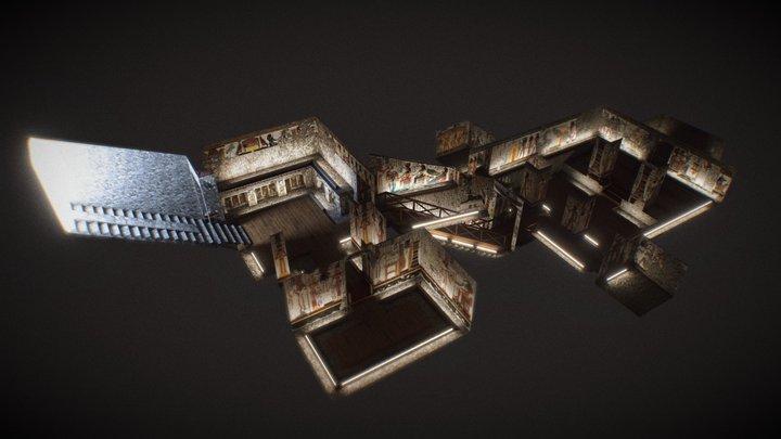 The tomb of Nefertari: 3d vr4.2 (v0-93) nowadays 3D Model