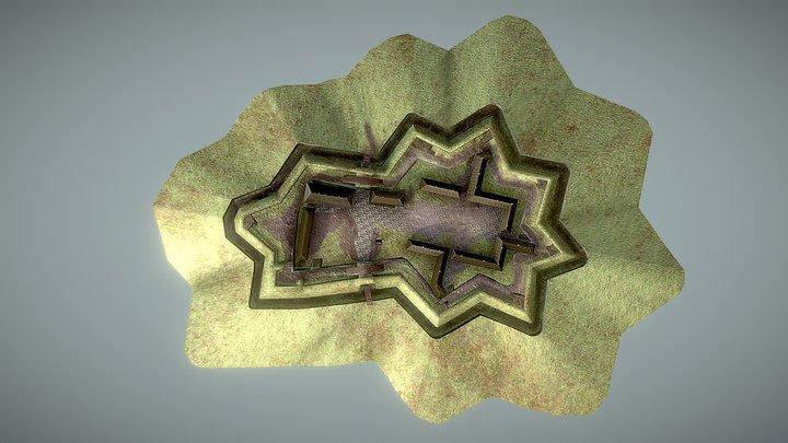 Přestavba Velké šance z let 1808-1809 3D Model