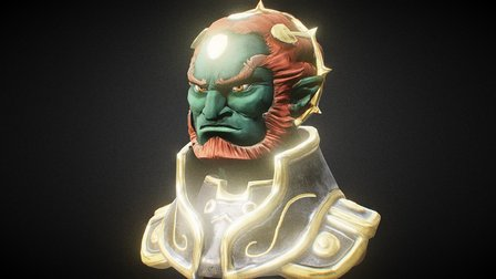SGP35 - Ganondorf 3D Model