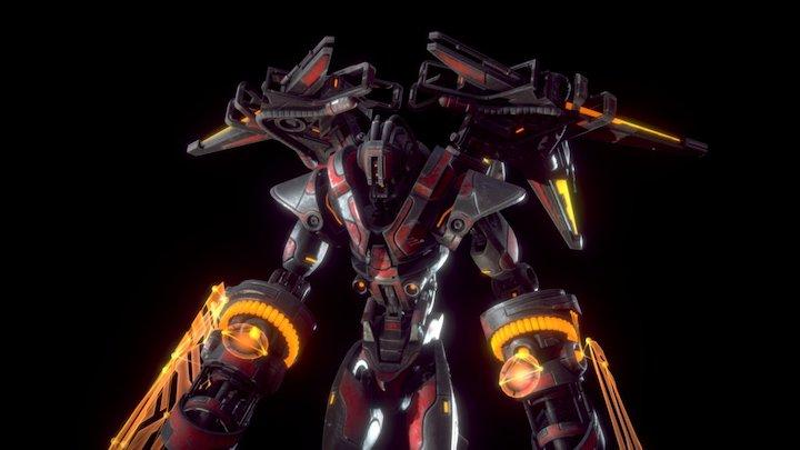 """UNIT T-301 """"Vanguard"""" 3D Model"""