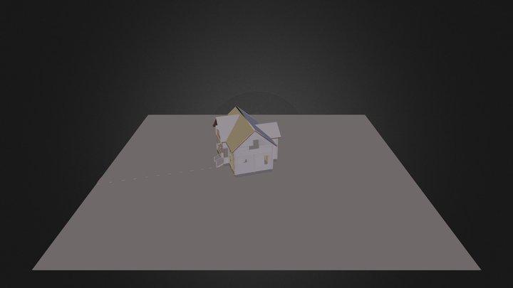 Casa Madera 2 3D Model