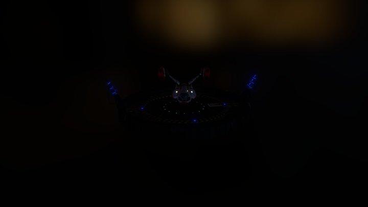 Alienship 3D Model