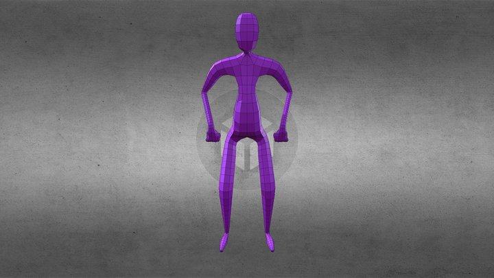 Skin003 3D Model