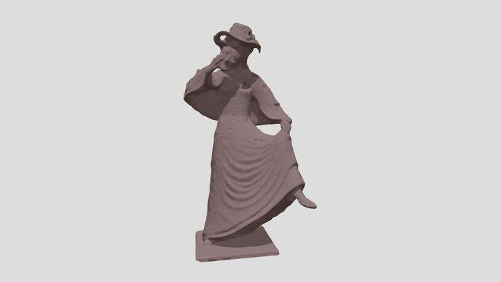 Tanzende Möhn 3D Model