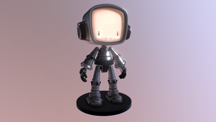 LITTLE BOT BY JAKE PARKER 3D Model