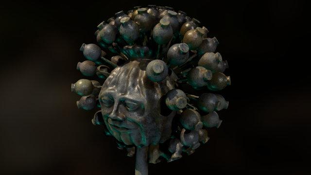 King Poppy 3D Model