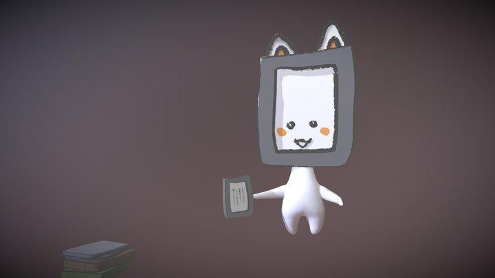 ぱぶにゃん VR 3D Model