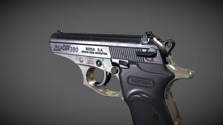 Bersa 380 3D Model