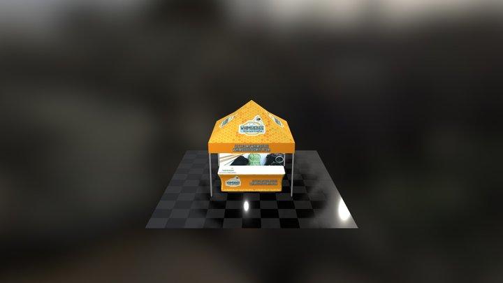Whimsie Bee Outdoor 3D Model