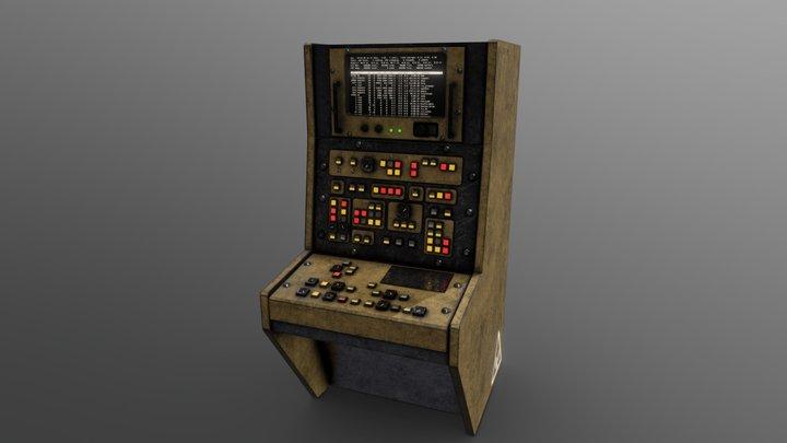 Computer #2 3D Model