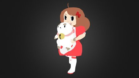 Bee and Puppycat 3D Model
