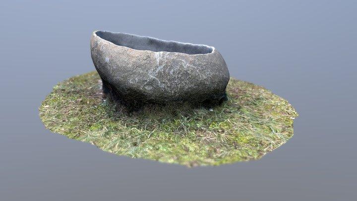 Gartentrog 3D Model