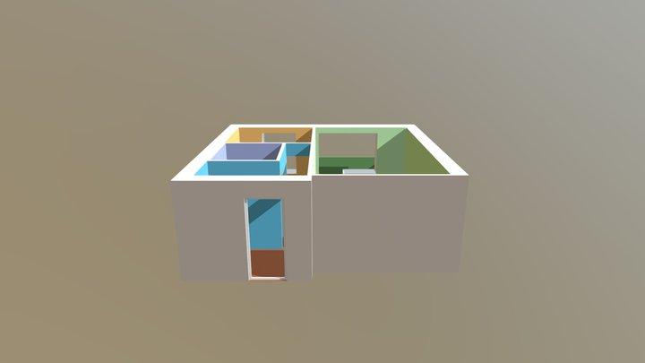 AR Flat 3D Model