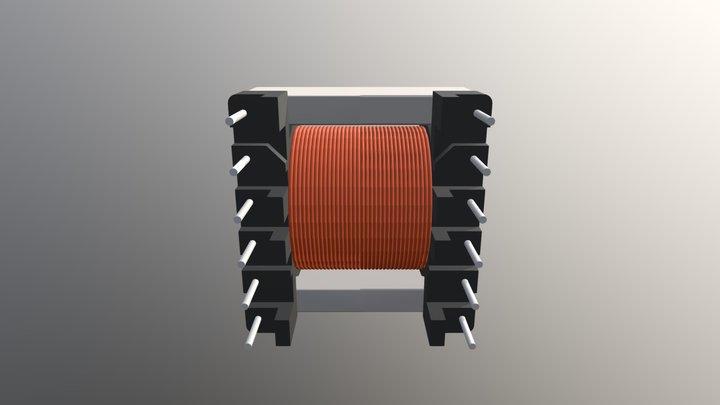 ER28-K-H-12P Złożenie 3D Model