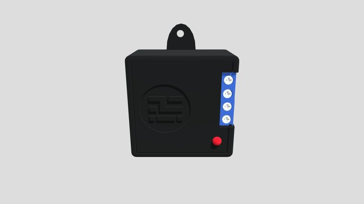 Solid State Relay 3D Model
