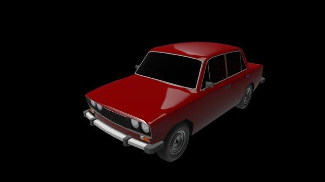 Ваз 2106 3D Model