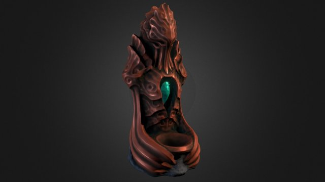 Totem of the Squid God #3DSM5 3D Model